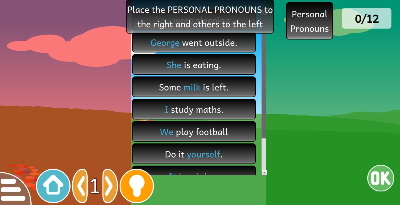 Categorization Words